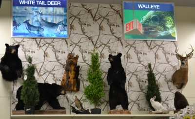 The new space allows for more interesting displays in the various departments at Canadian Tire.