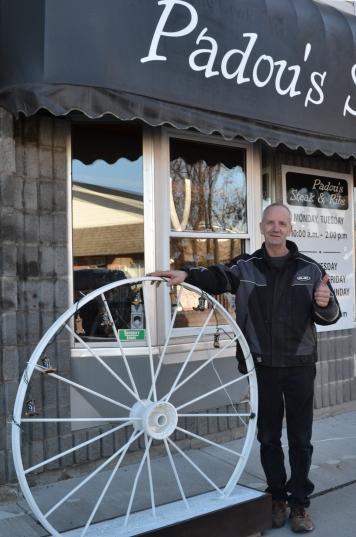 Don Leblanc, proprietor of Padou's Steak & Ribs.