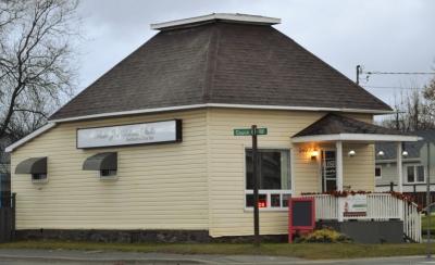Rustic Zen Wellness Studio is on the corner of Church & Front streets, Sturgeon Falls.