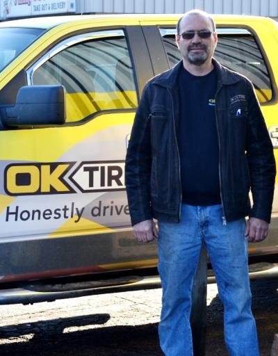 Luc Remillard of OK Tire / Sturgeon Tire.
